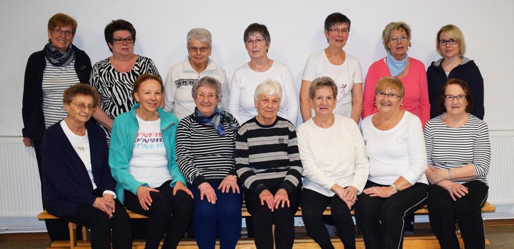 Gruppenfoto Fitness Senioren