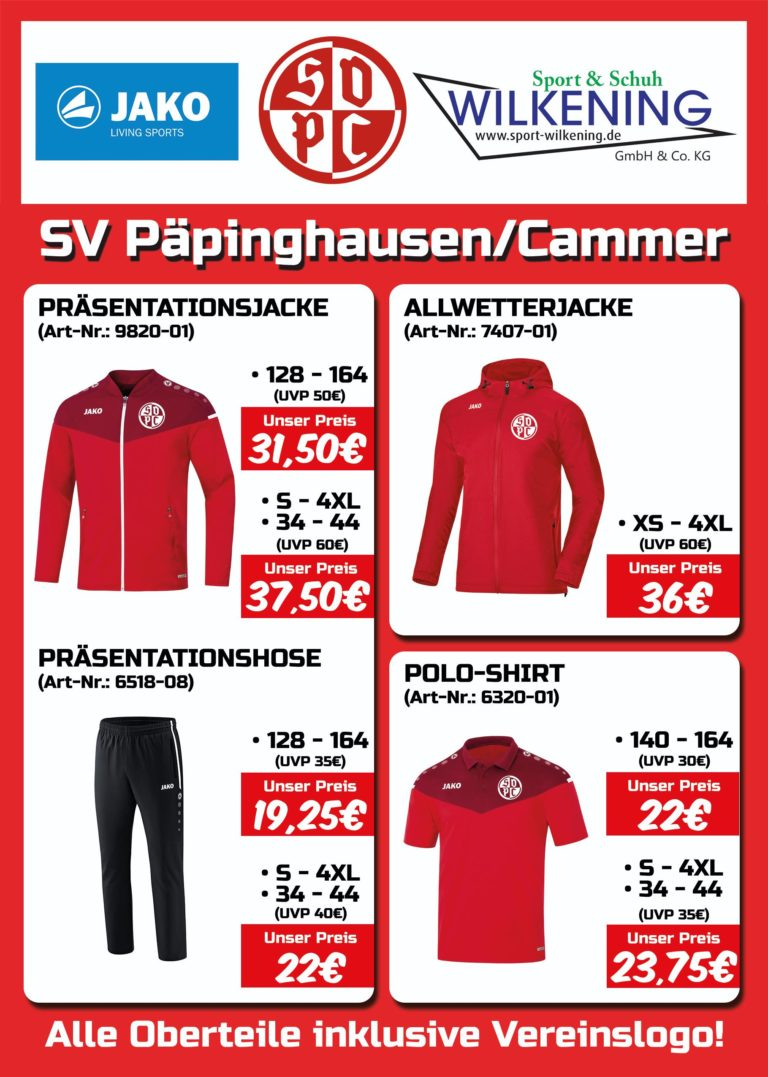 Merchandise 2020 SVPC Kollektion I