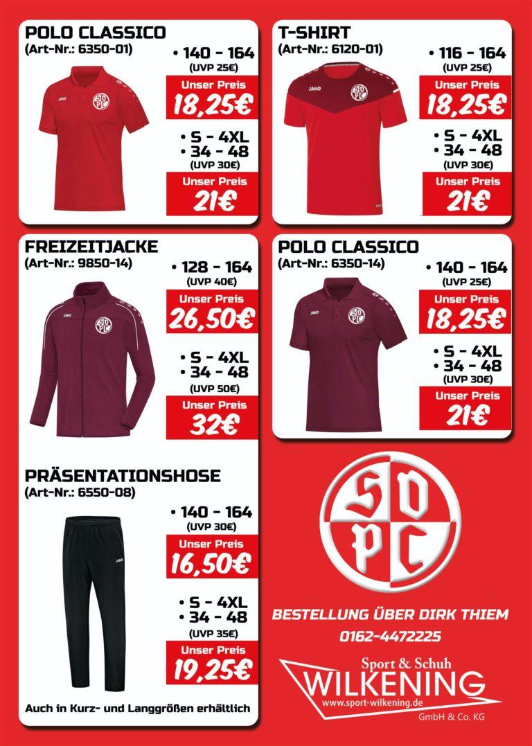 Merchandise 2020 SVPC Kollektion II